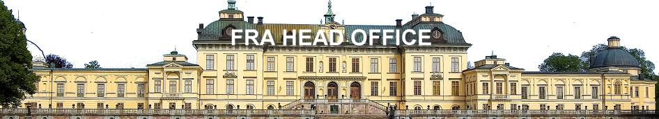 FRA Head Office Lovön Sverige
